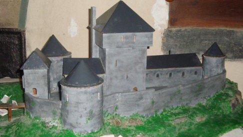 chateau maquette